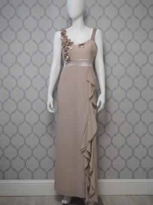 Suknia Capuczino kwiaty