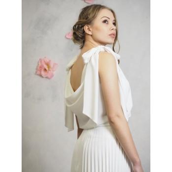 A6 Suknia ślubna LENA ekri